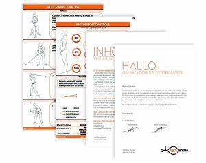PERform map - Swinganalyse, lichaamsanalyse, golfblessures, oefenschema